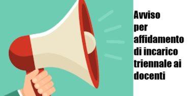 ASSEGNAZIONE DELLA SEDE PER IL CONFERIMENTO DELL' INCARICO TRIENNALE