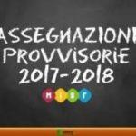 Graduatorie definitive assegnazioni e utilizzazioni I e II grado anno scolastico 2017/2018