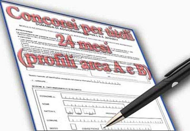 Indizione concorsi per titoli per l'accesso ai ruoli provinciali, relativi ai profili professionali dell'area A e B del personale ATA – 24 Mesi. Graduatorie a. s. 2019/20