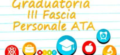 ATA III FASCIA – PARERE CONSIGLIO SUPERIORE DELLA PUBBLICA ISTRUZIONE